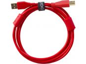 UDG U95003RD - Ultimate Audio Cable USB 2.0 A-B Red Straight 3m