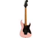 SQUIER BY FENDER Contemporary Stratocaster HH FR Roasted Shell Pink Pearl