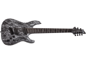 SCHECTER C-7 MS SILVER M. SVM