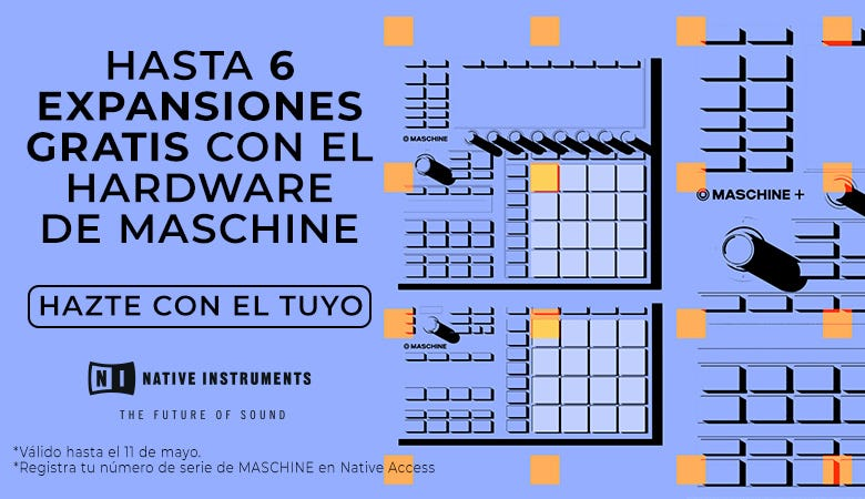 Promoción Native Instruments Mashine Hardware